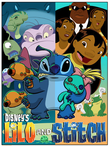 LILO & STITCH CARTOON SERIES