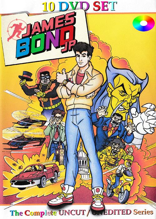James Bond Jr Cartoon Series