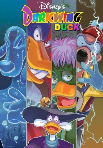 DARKWING DUCK CARTOON SERIES