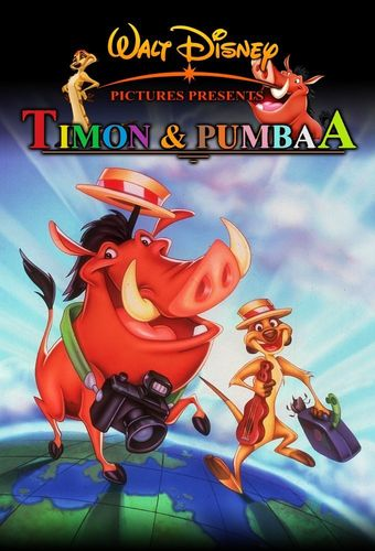 TIMON & PUMBAA CARTOON SERIES