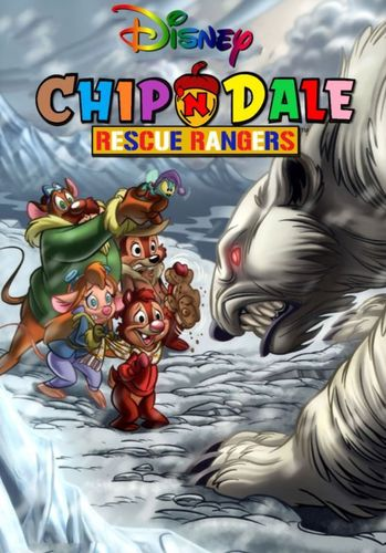CHIP 'N' DALE RESCUE RANGERS CARTOON SERIES