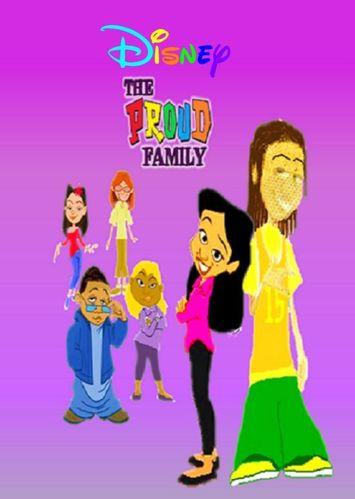 THE PROUD FAMILY CARTOON SERIES