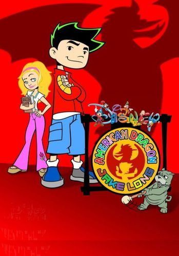 AMERICAN DRAGON : JAKE LONG CARTOON SERIES