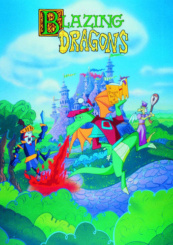 BLAZING DRAGONS CARTOON SERIES