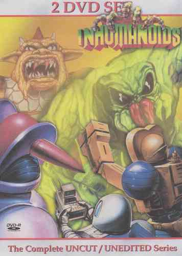 INHUMANOIDS CARTOON SERIES