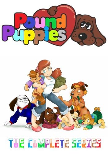 POUND PUPPIES CARTOON SERIES
