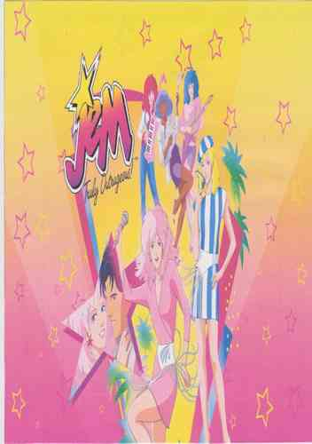 JEM AND THE HOLOGRAMS CARTOON SERIES