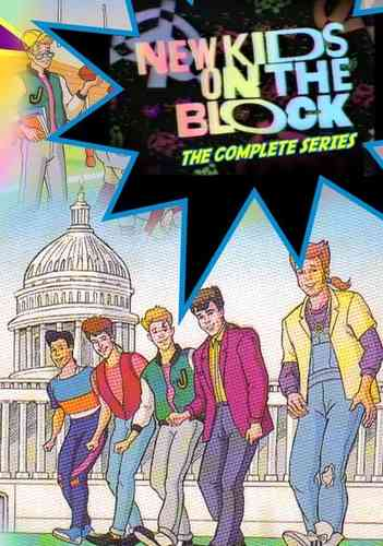 NEW KIDS ON THE BLOCK CARTOON SERIES