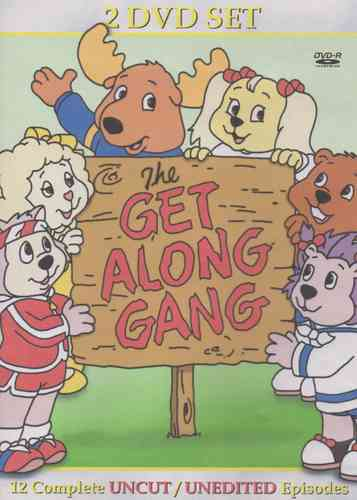 THE GET ALONG GANG CARTOON SERIES