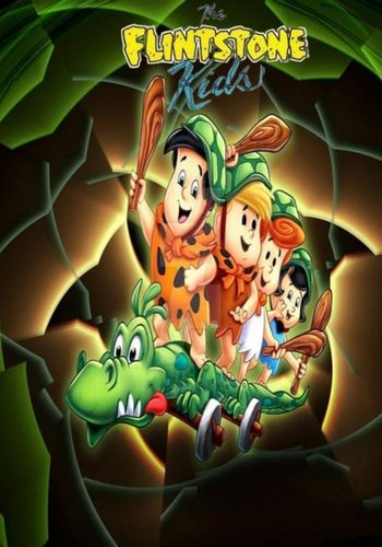 THE FLINTSTONE KIDS CARTOON SERIES