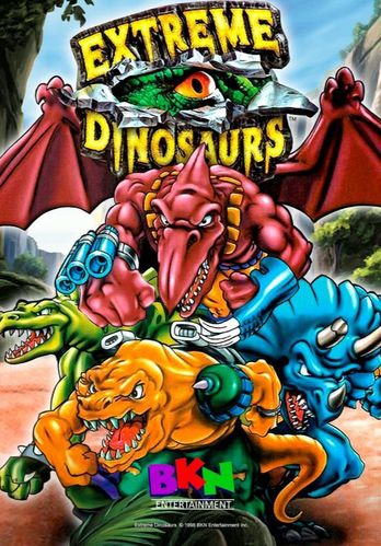 EXTREME DINOSAURS CARTOON SERIES