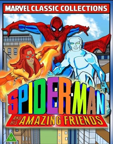 SPIDER-MAN AND HIS AMAZING FRIENDS CARTOON SERIES