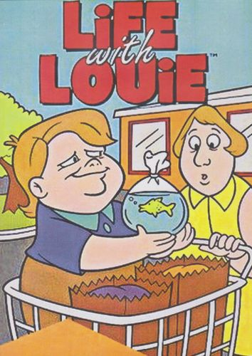 LIFE WITH LOUIE CARTOON SERIES