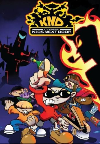 CODENAME : KIDS NEXT DOOR CARTOON SERIES