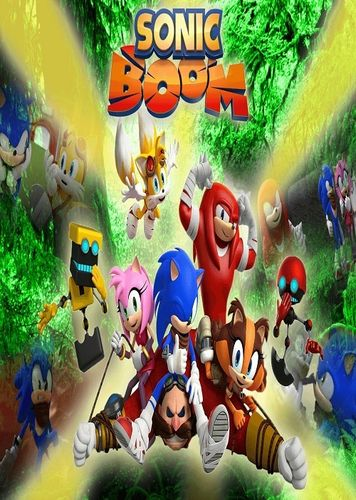 SONIC BOOM CARTOON SERIES