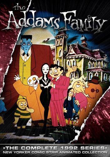 THE ADDAMS FAMILY CARTOON SERIES